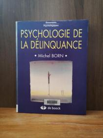 Psychologie De La Délinquance【法文原版】