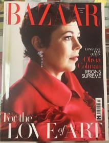 英国版 HARPER`S BAZAAR芭莎2019年11月 英文时尚女士服装杂志
