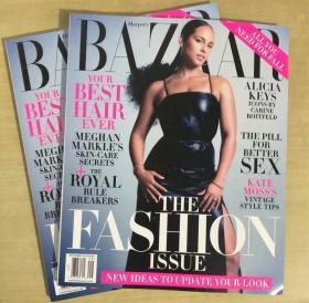 美国版 HARPER`S BAZAAR芭莎2019年9月 英文时尚女士服装杂志