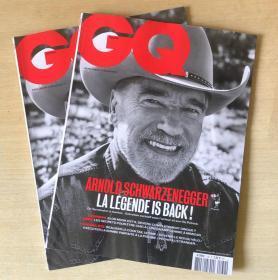 法国版 GQ2019年8月 法文时尚男士服装法语杂志