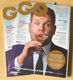 英国版 GQ2019年9月勒布朗·詹姆斯LeBron James英文时尚服装杂志
