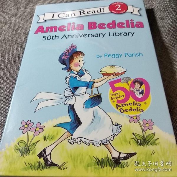 Amelia Bedelia, 50th Anniversary Collection (I Can Read, Level 2)阿米莉亚·贝迪利亚40周年合集