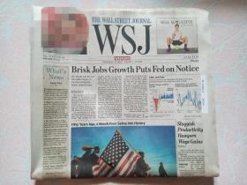THE WALL STREET JOURNAL 华尔街日报 2015/03/7-8  WSJ 周末版 外文原版报纸