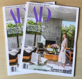 AD ARCHITECTURAL DIGEST建筑辑要2019年7-8月合刊 家居设计英文杂志