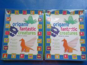 OrigamiFantasticCreaturesKit[With48-PageBookand98SheetsofFoldingPaper]折纸  未开封