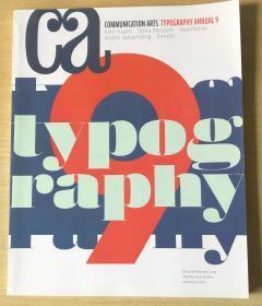 ca 2019年1-2月合刊TYPOGRAPHY ANNUAL 9 英文版平面艺术设计杂志