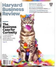 Harvard Business Review哈佛商业评论2018年9-10月合刊 英文杂志