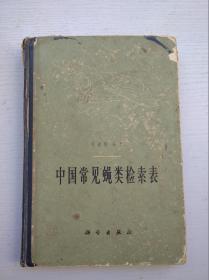 中国常见蝇类检索表