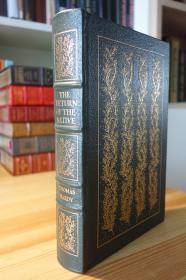 哈代的还乡 真皮精装收藏版  THE RETURN OF THE NATIVE. The 100 Greatest Books Ever Written Series