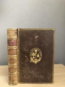 1881年 The ILiad Of Homer Volume II 全皮 三面书口漂亮花纹