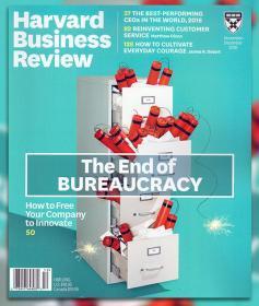 Harvard Business Review哈佛商业评论2018年11-12月合刊英文杂志