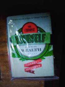 英文原版 The choose yourself guide to wealth 精装大开本