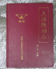 大冶铁矿志[1890-1985]第一卷下册