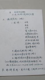 潍坊国际风筝会——彩旗设计图稿——17张合售(外加说明1张)——罕见八十年代的原始设计图样。