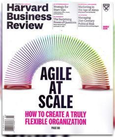 Harvard Business Review哈佛商业评论2018年5-6月合刊英文版杂志