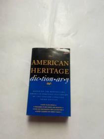 The AMERICAN HERITAGE dic tion ar y