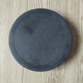 圆形带盖砚