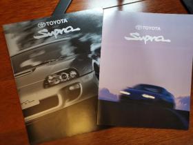 1995年款 丰田 SUPRA 广告册 宣传册 画册 样本 型录