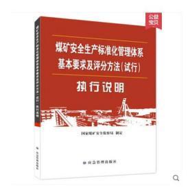 2020年煤矿安全生产标准化管理体系基本要求及评分方法执行说明_应急管理出版社