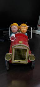 老铁皮玩具消防车
