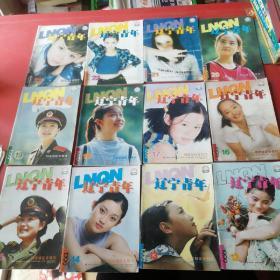 辽宁青年1999年12、13、14、15、16、17、18、19、20、21、22、23期共12本合售