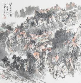 郭明堂  68×68cm