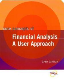 Core Concepts of?Financial Analysis: A User Approach