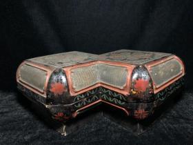收來的早期老胎漆器盒