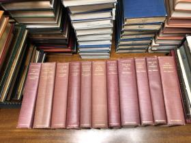 Story of Civilization《 世界文明史 》  Will and Ariel Duran威尔杜兰夫妇 史学名著 布面精装     11  卷全集 布面精装原版 大16开 ,纸张好