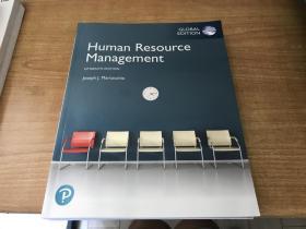 Human   Resource   Management        人力资源管理       Martocchio     英语原版   第15版   2019年版本    稀见 保证正版   第1页缺一个角  不碍事