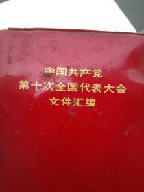 中共第十次全国代表大会文件汇编