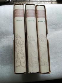《水浒传》(全三册 英文版精装;1980年一版一印