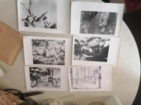 抗战老照片53张,八十年代军事博物馆翻拍,毛泽东 蒋介石 邓小平 刘伯承 等,尺寸大的约20x13.5,小的约15x12