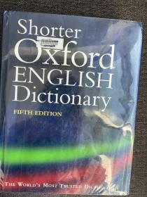 Shorter Oxford English Dictionary, Vol 2 馆藏书 现货