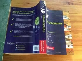 Kaplan AP Human Geography 2014 (Kaplan AP Series)(货号d57)