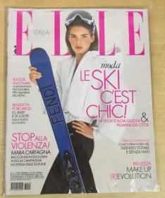 意大利版 ELLE 2018年12月 女士时尚服饰潮流服装杂志