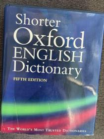 现货 Shorter Oxford English Dictionary, Vol 2