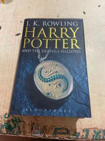 Harry Potter and the Deathly Hallows 哈利波特与死亡圣器 英文原版 精装
