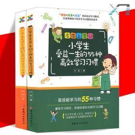 全2册 皮皮上学记 小学生必须掌握的60种科学学习方法 小学生受益一生的55种高效学习习惯 付岩/著 情境 故事 方法 沉浸式学习模式