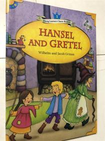 英文儿童阅读故事书 young learners classic readers hansel and gretel wilhelm and jacob grimm 1 经典小读者文摘系列 带音频