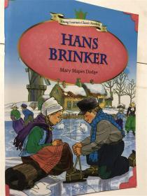 英文儿童阅读故事书 young learners classic readers hans brinker mary mapes dodge 3 经典小读者文摘系列 带音频
