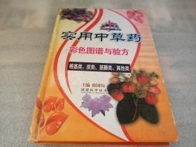 实用中草药彩色图谱与验方:根茎类、皮类、茎藤类、其他类