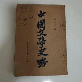 中国文学史略