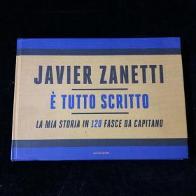 国际米兰队长萨内蒂袖标画册zanetti