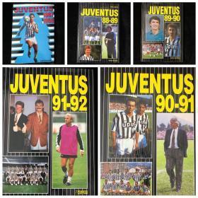 尤文图斯官方画册Juventus 1987/1988/1989/1990/1991/1992 巴乔皮耶罗