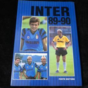 国际米兰1989/90赛季意大利足球意甲冠军纪念画册