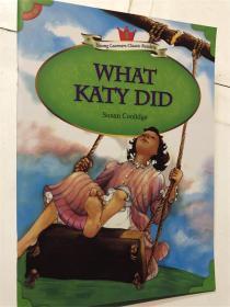 英文儿童阅读故事书 young learners classic readers what katy did susan coolidge 5 经典小读者文摘系列 带音频