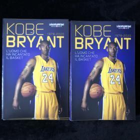 科比布莱恩特kobe纪念画册意大利语nba篮球湖人美国 A5尺寸