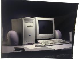 大画幅 反转片 联想公司早年的 广告宣传片7 台式机 老底片