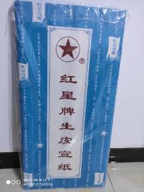 红星生皮净皮宣纸四尺2010年